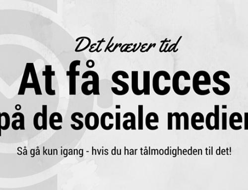 At starte på de sociale medier kan være en hård fødsel